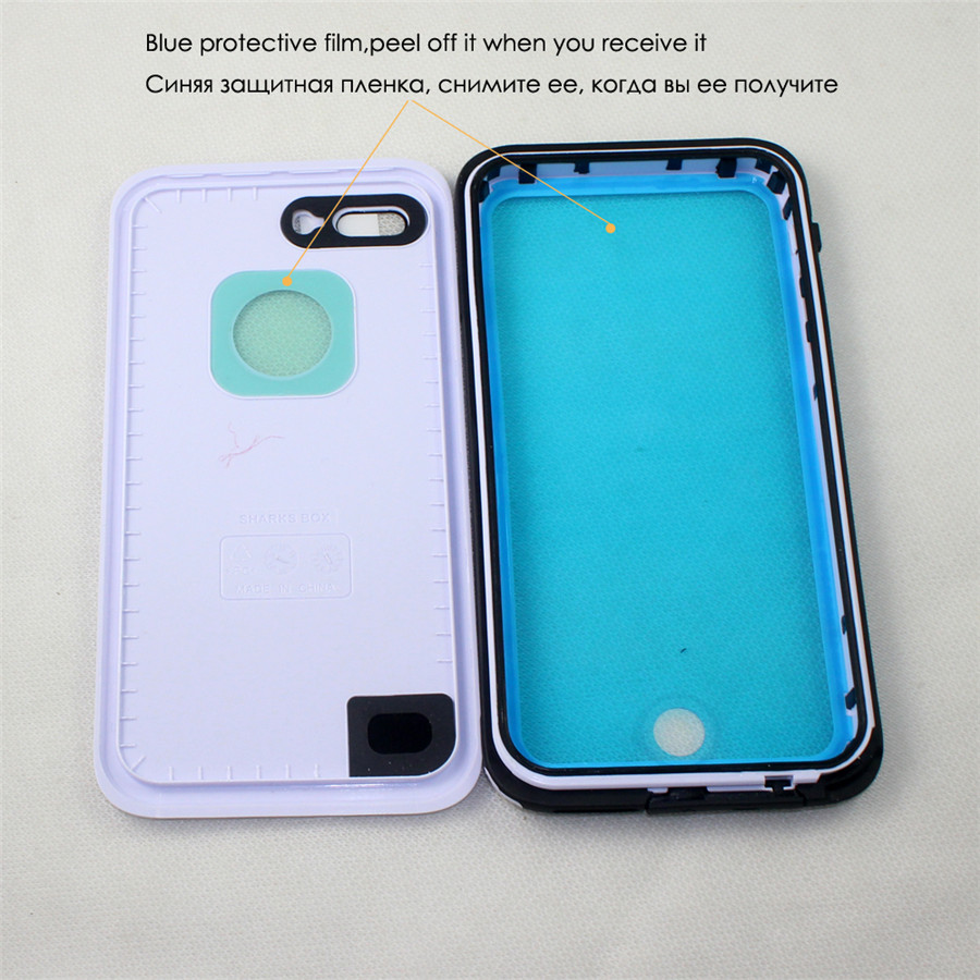 iphone 7 waterproof case shockproof_