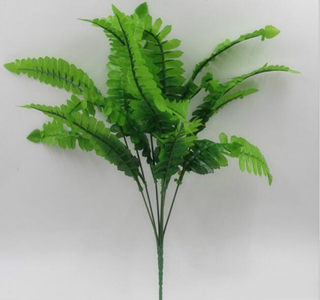 Artificial Plastic Fern Plant Fake Flower Wedding Flower Arrangement Home Decoration G507