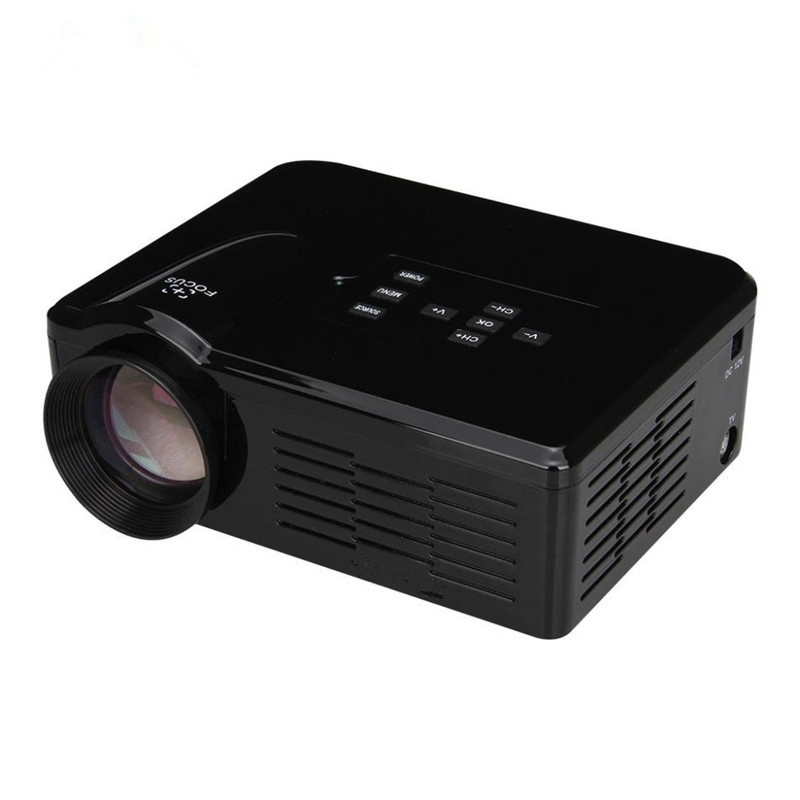 Mini LED Projector Portable LCD Projector Video Game Projector Beamer Multimedia Home Cinema Theater for Ipad/TV Stick/Laptop PC/Smartphone