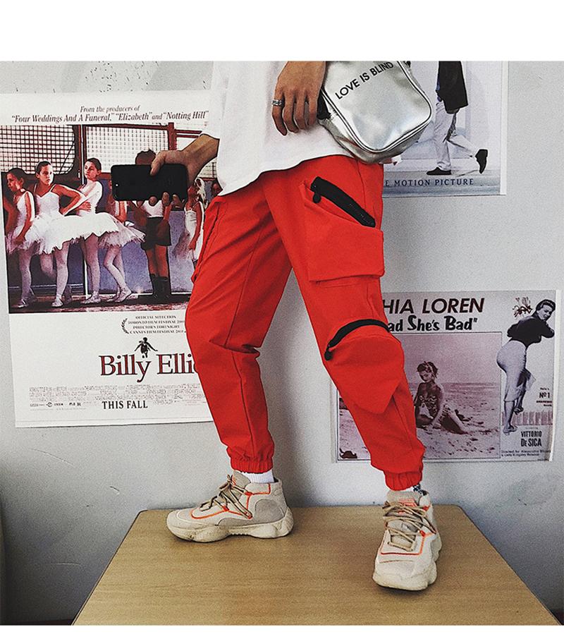 Pocket Tactical Fashions Men Hip Hop Pants Man (3)