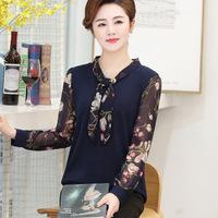 new-fashion-women-middle-age-mother-print-chiffon-long-sleeve-Bow-collar-t-shirt-female-office.jpg_200x200