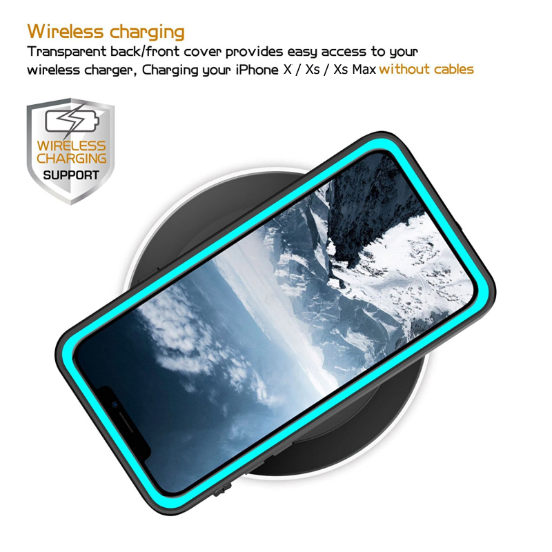 360-Protect-for-Apple-iPhone-XS-Max-Case-Water-Proof-Clear-Back-Front-Cover-for-Etui (3)