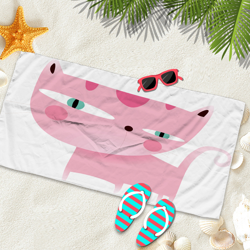 large beach towel cotton