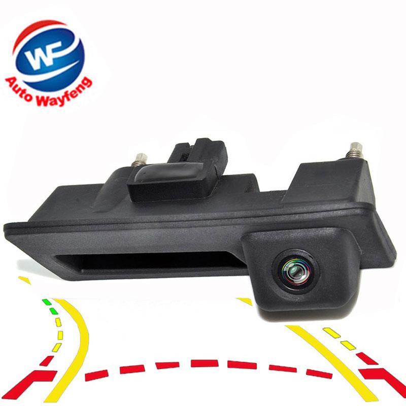 Car Trunk Handle Rear View Camera for Audi A4L VW Touran L Tiguan Teramont Bora