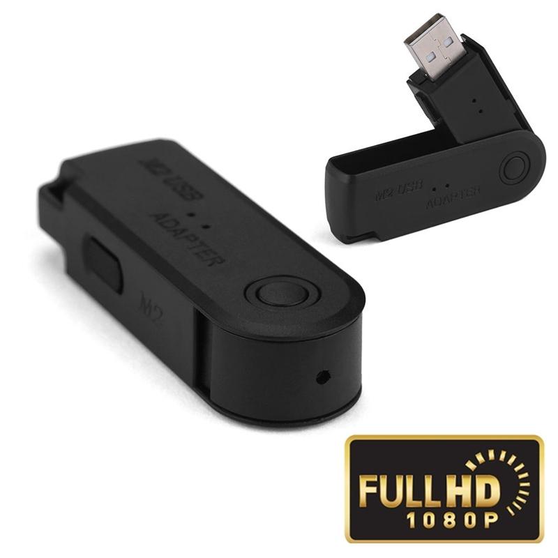 32 GB Mini Câmera U-Disk HD 1080 P Portátil USB Flash Drive Camera Gravação de Vídeo Ativado Por Movimento Indoor DV Filmadora Cam de Segurança Ao Ar Livre