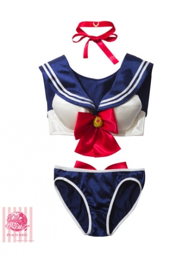 ZY1021-5 sailor moon costume bra set