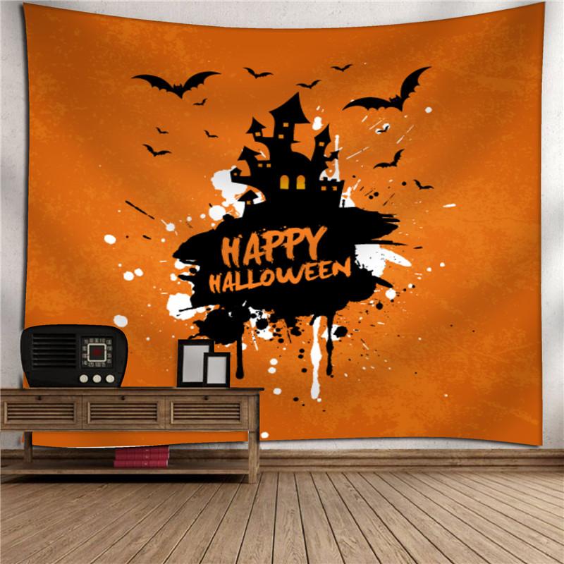 150 * 130 cm Cadılar Bayramı Goblen Bohemian tarzı Atmak Goblenler Açık Piknik Battaniye Festivali Ev Dekorasyon Bohemian Baskı 2018 yeni