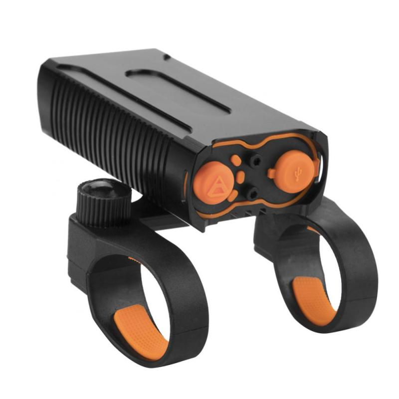 2000lm LED Bike Light USB Rechargeable Bicycle Lights Waterproof Lamp Torch Flashlight Double T6 Bulb Night Cycling Accessories