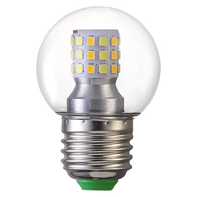 5W E27 LED Light Bulbs Adjustable three-color dimming Switch control Home lighting bulb