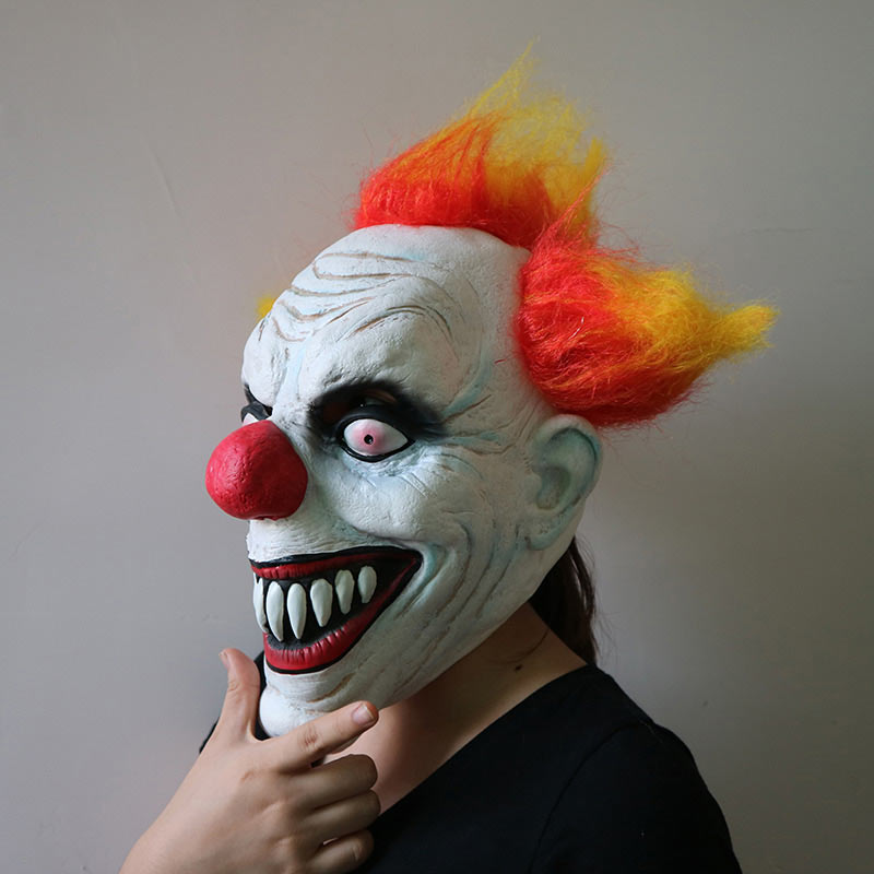 Halloween Mask Party Full Face Masks Adult Ghost Mask Killer Clown Scary Creepy Horror Terror Masquerade Cosplay Mischief Mask (7)