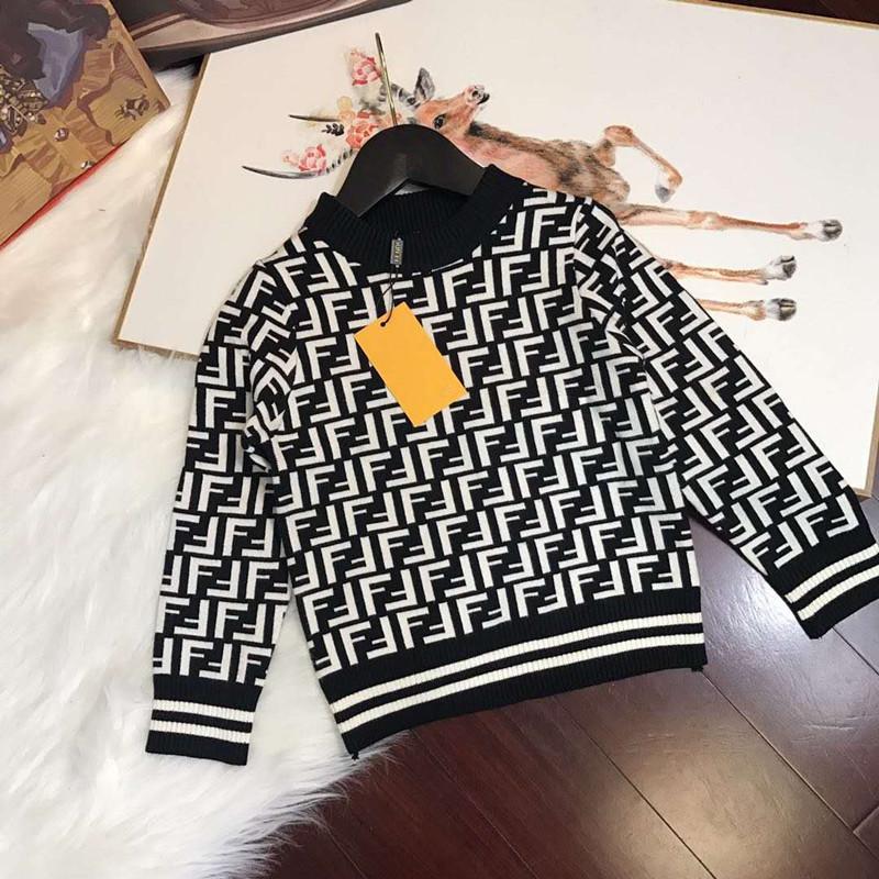 Kids Sweater Children S New Pullover Fashion Stripe British Literary