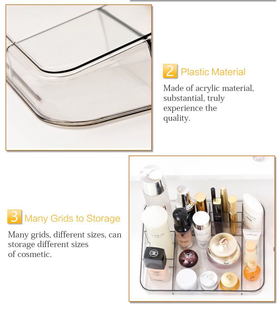 Storage Boxes Clear Acrylic Makeup Organizer Storage Box Case Lipstick Plastic Make Up Organizer For Brushes Jewelry Cosmetic _06