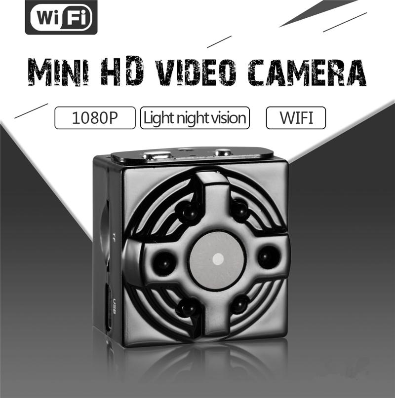 Neue 1080 P Sport WiFi Kamera Mini Drahtlose Kamera Sicherheit Kindermädchen Cam mit Bewegungserkennung für Home Office Nachtsicht DVs für Android IOS
