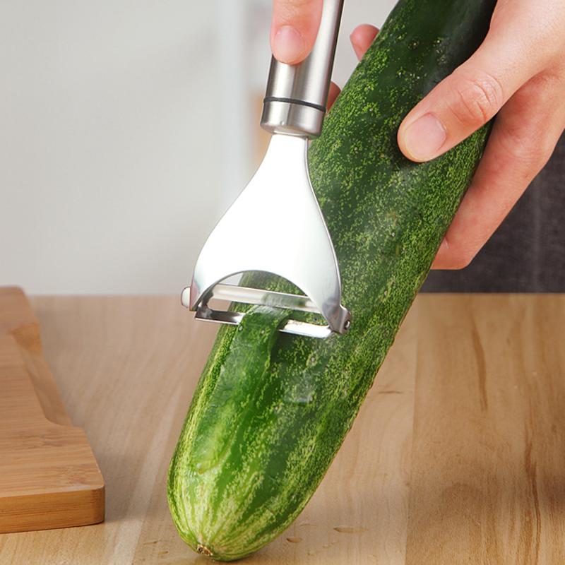 Stainless Steel Potato Peeler Fruit Vegetable Tools Metal Peeler Zesters Slicer Kitchen Gadgets Accessories Cooking Tools (5)