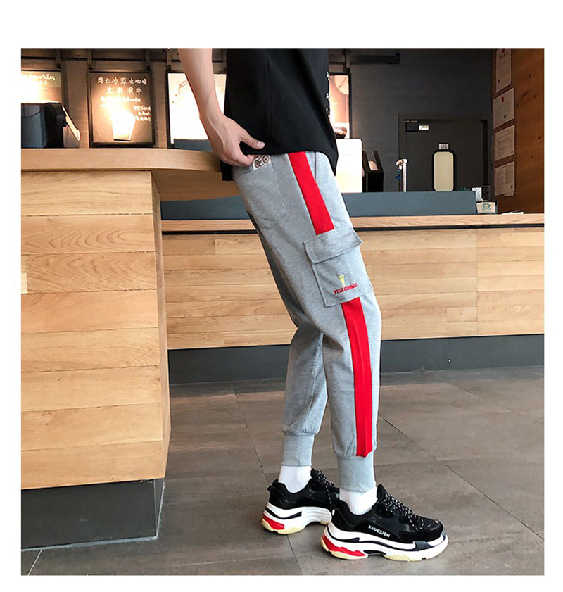 Joggers Parkour Mens Pants Loose Streetwear (5)