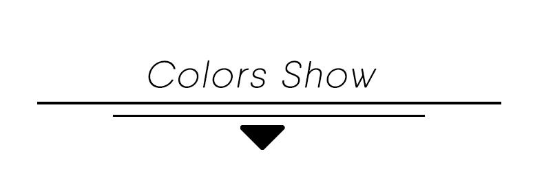 colors show