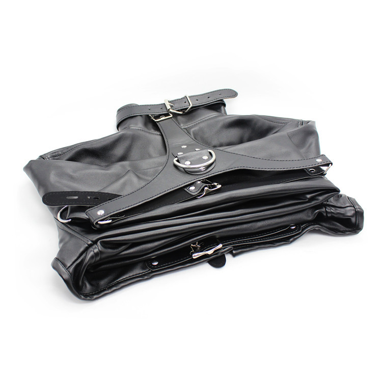 BDSM Open Breast Fetish Bondage Sex Restraints Arm Binder Party Clothing Costumes Harness Adult Sex Toys for Women Faux Leather GN302101169