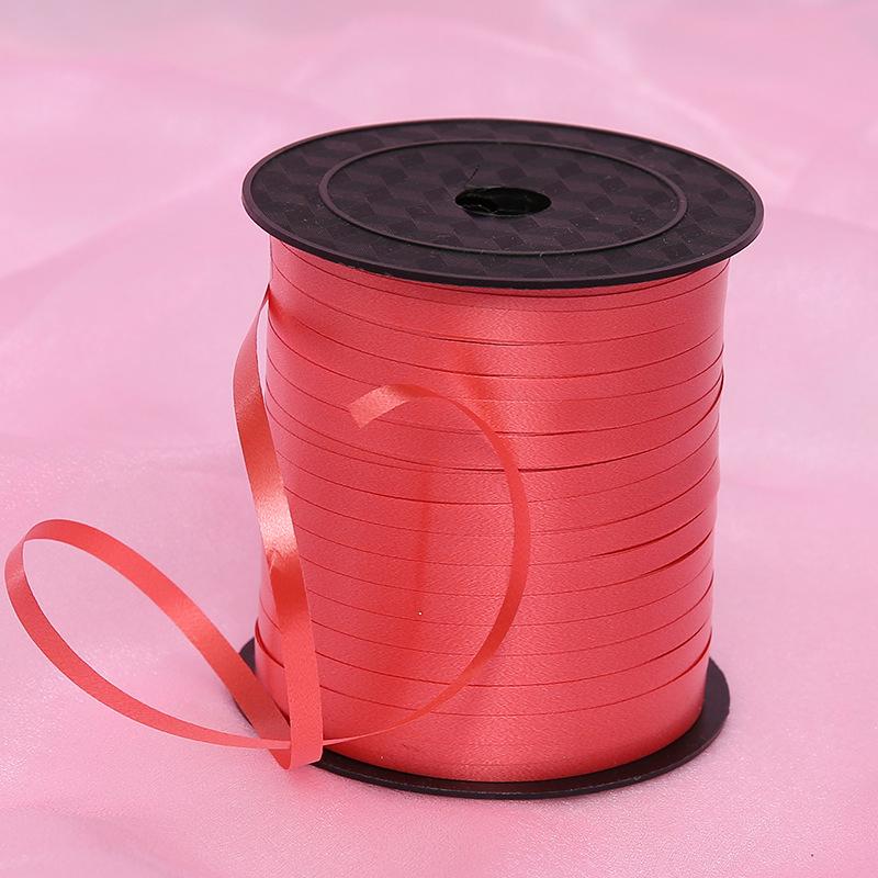 225m/738ft Plastic Balloon Curling Ribbon For Wedding Birthday Decoration