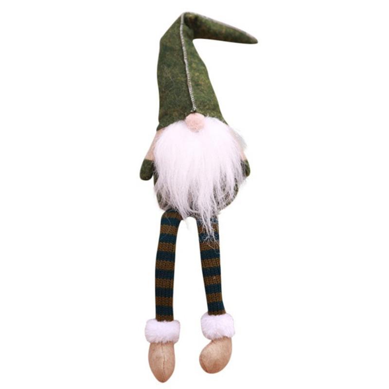 Fashion Christmas Doll Sitting Long Legs New Year Festival Party House Christmas Doll Decoration Y18102909