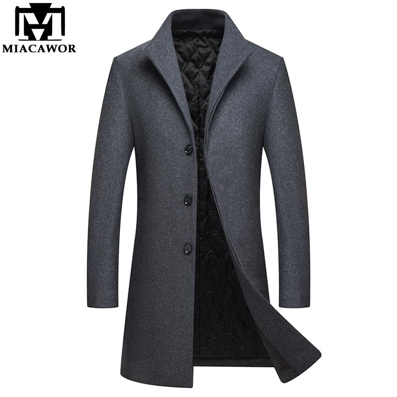 Da Uomo Lana Cashmere CAPPOTTO Giacca outerwear TRENCH overcoat CALDI INVERNALI FODERATI NUOVI