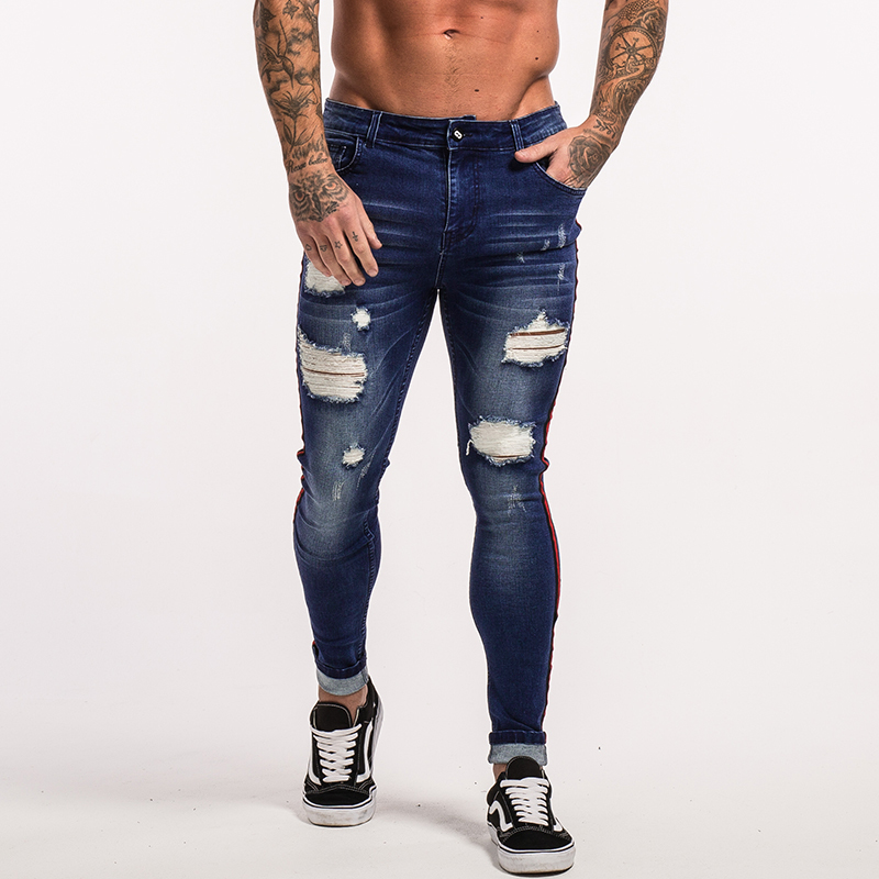 gingtto-mens-skinny-jeans-dark-blue-ripped-repaired-red-stripe-jeans-streetwear-zm21-15