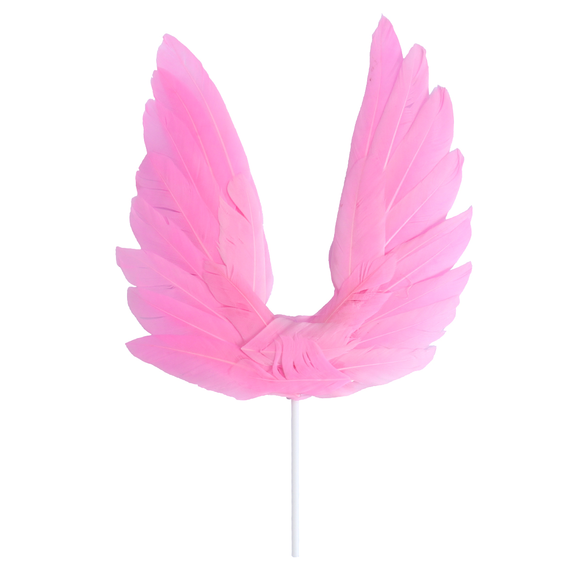 / Pack Cake Picks Cake Decoration Swan Feather Cake Cupcake Toppers for Birthday Wedding Party Favors White