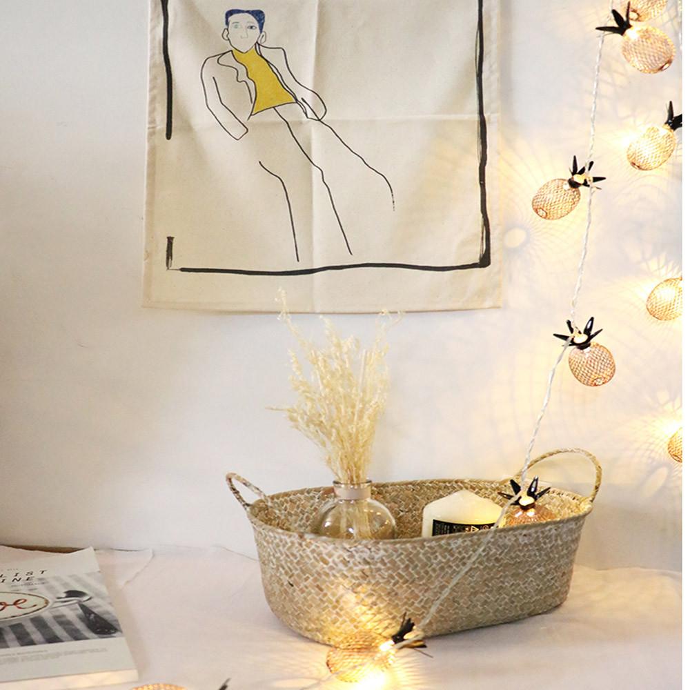 Ananas LED Lampe String Weihnachtsschmuck Für Baum 1,5 / 3 Mt Obst Batteriekasten Hohe Qualität Wand Home Hängende Ornamente D18110802