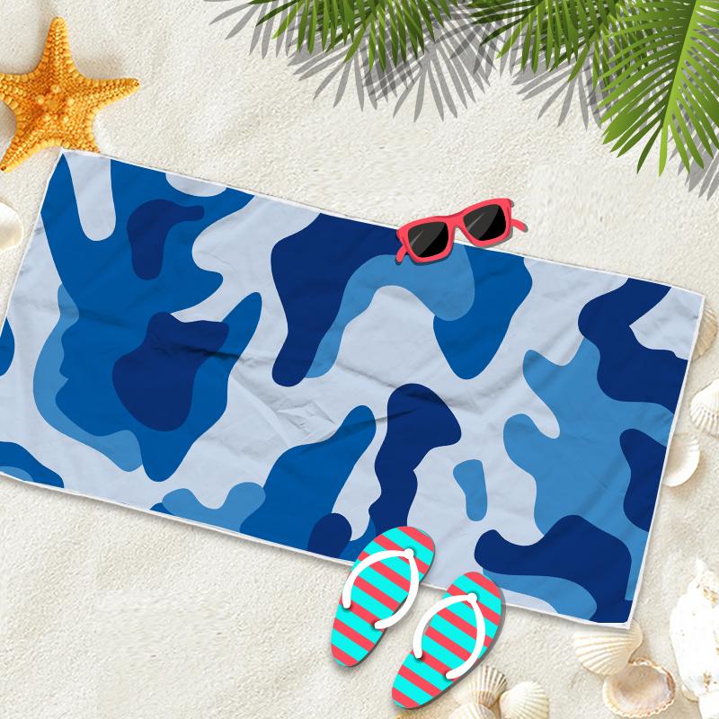 microfiber beach towel large