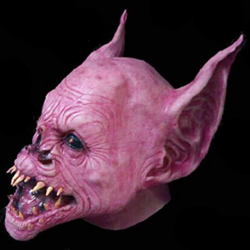 Halloween Scary Mask Full Face Devil Horror Face Mask Cosplays Latex Masks Masquerade Adult Ghost Halloween Theater Props S35