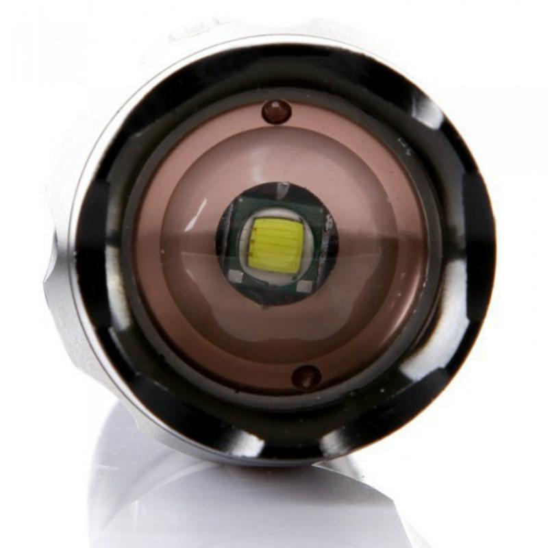 E17 High Power XML-T6 5 modalità 3000 lumen LED Torcia impermeabile Zoomable Torch luci 18650 batteria Lampada ricaricabile