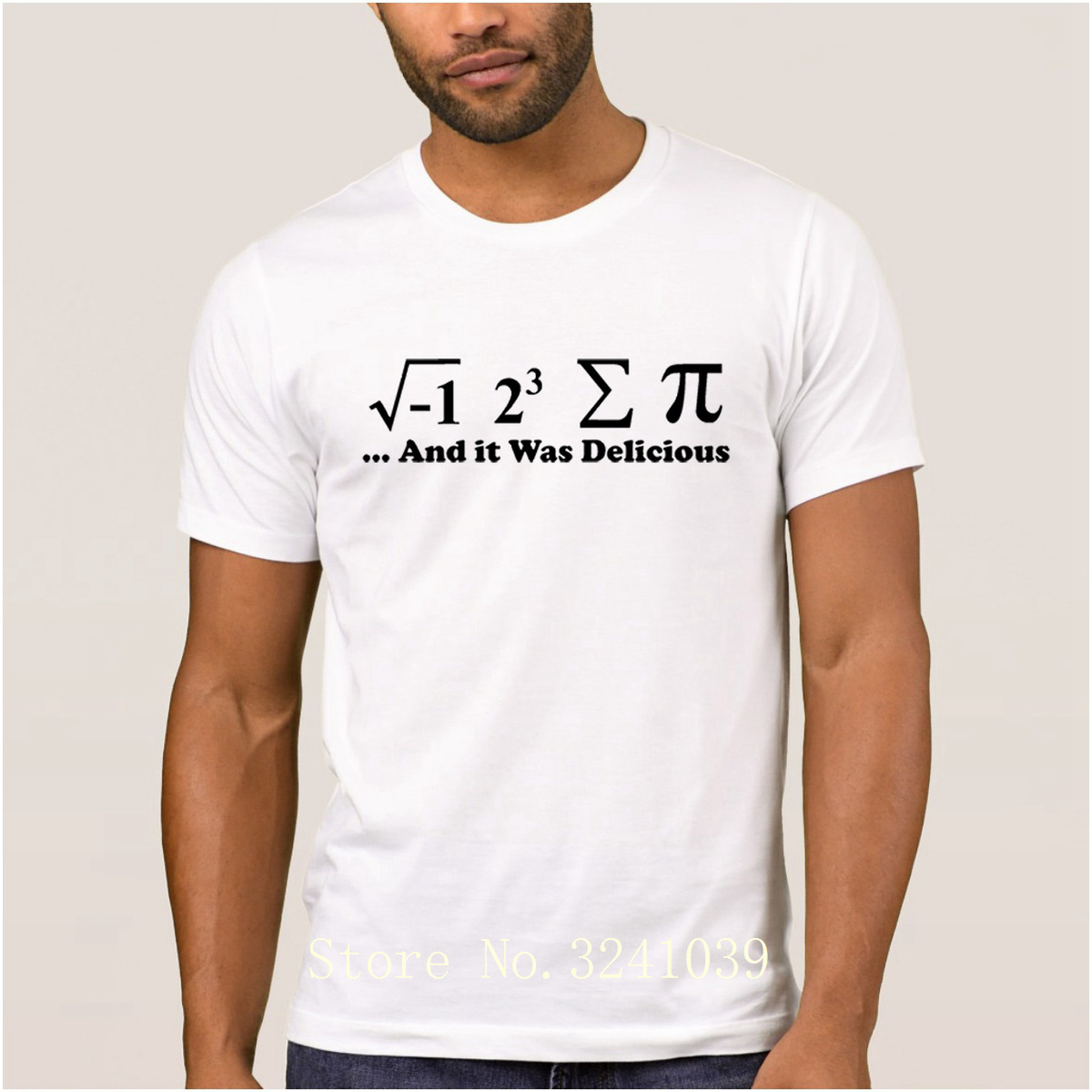 La Maxpa create Breathable i ate some pie and it was delicious t shirt summer Anti-Wrinkle t-shirt men Letters regular tshirt