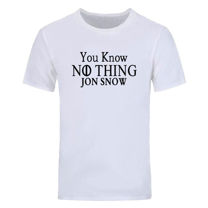 Sie Wissen Nichts Jon Damen T-Shirt Lustig Spiel Schnee Thron Design Damen