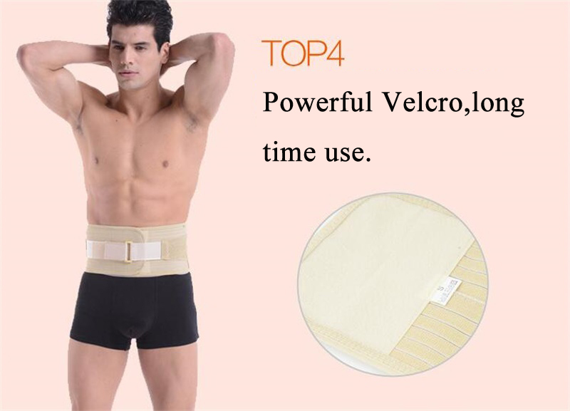 Double banded Lumbar spine belt magnetic therapy tourmaline adjustable self-heating lumbar support Waist protection brace