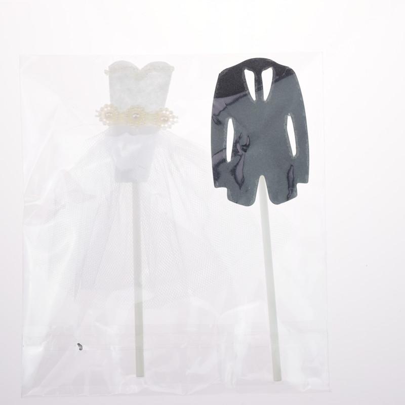 Mr Mrs Cake Toppers Flags Groom Bride Marry Cupcake Cake Topper Kids Birthday Wedding Cake Party Bridal Shower Baking DIY