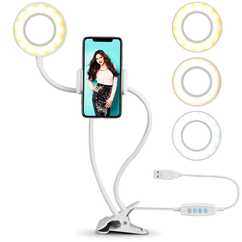 1x Lupe Crafts Glas Schreibtischlampe mit 5X 10X Lupe mit 40 LED Light Accessery