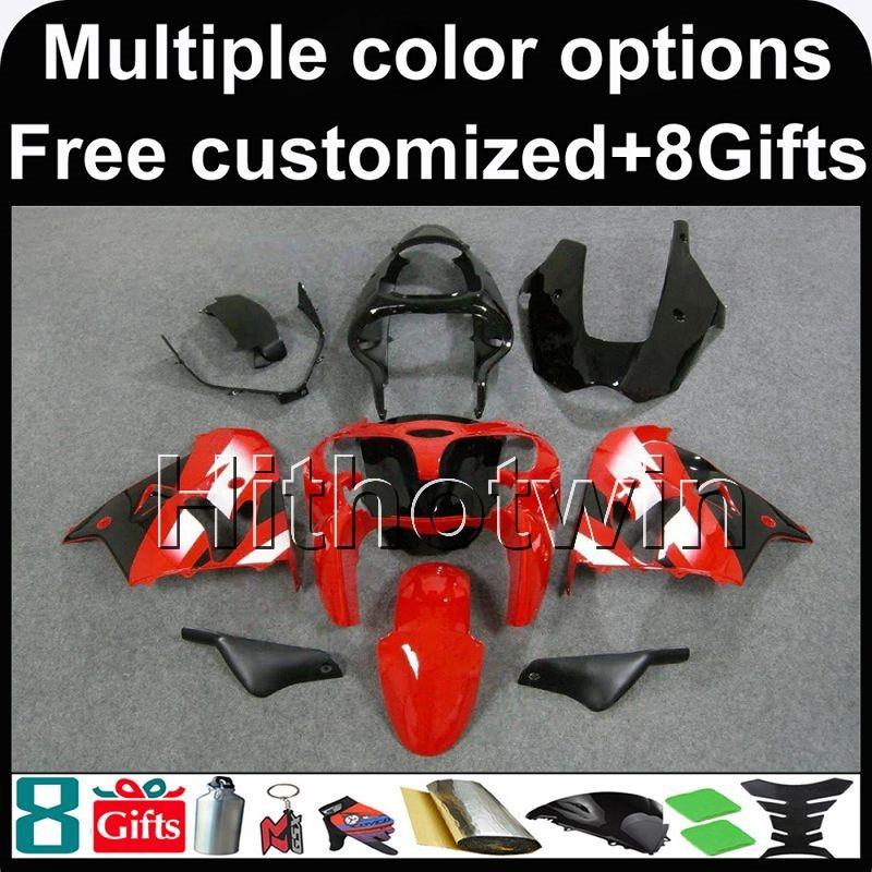 Unpainted ABS Fairing Set Bodywork Cowl Panel Fit For Kawasaki Ninja ZX9R 98-99