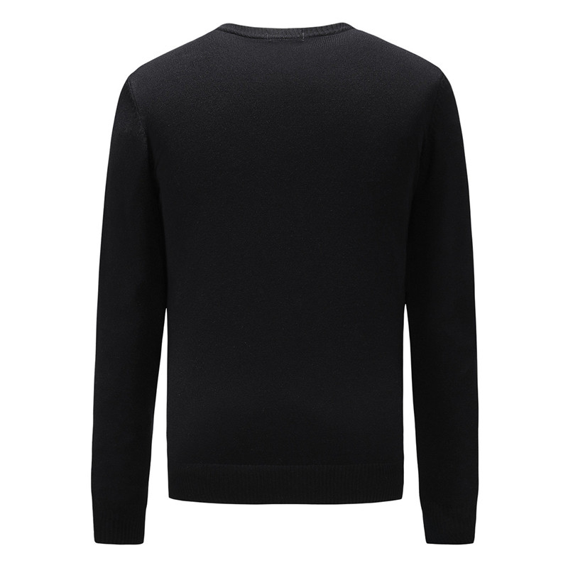 Men's Brand Fashion Letter Embroidery Knitwear Winter Men's Clothing Crew Neck Long Sleeve Sweater for Men Designer Hoodies New Arrivals