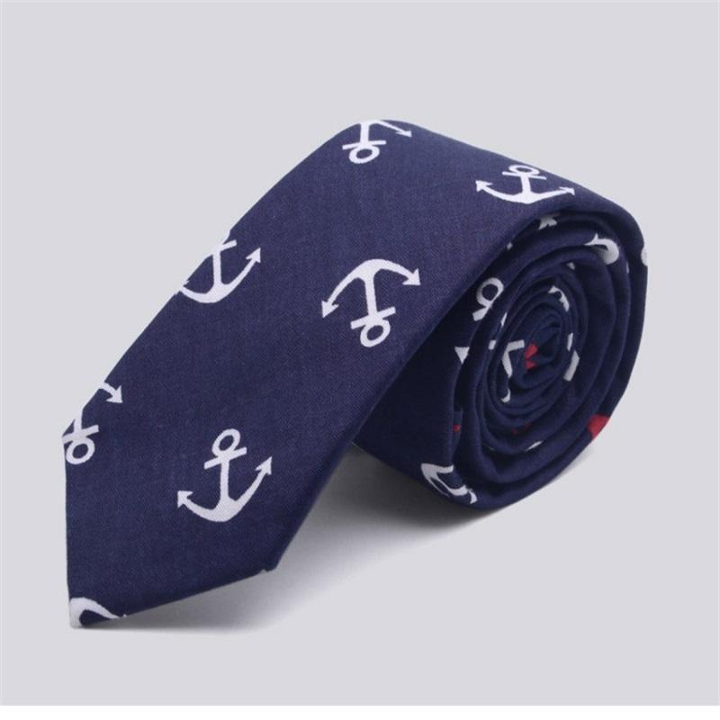 Animal Print Style Mens Cotton Tie Wedding Skinny Jacquard Fashion Party Necktie