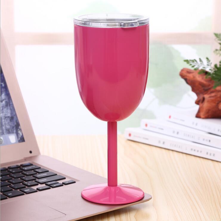 1pc Acero Inoxidable cáliz vino blanco rojo copas de vino para viajes al aire libre