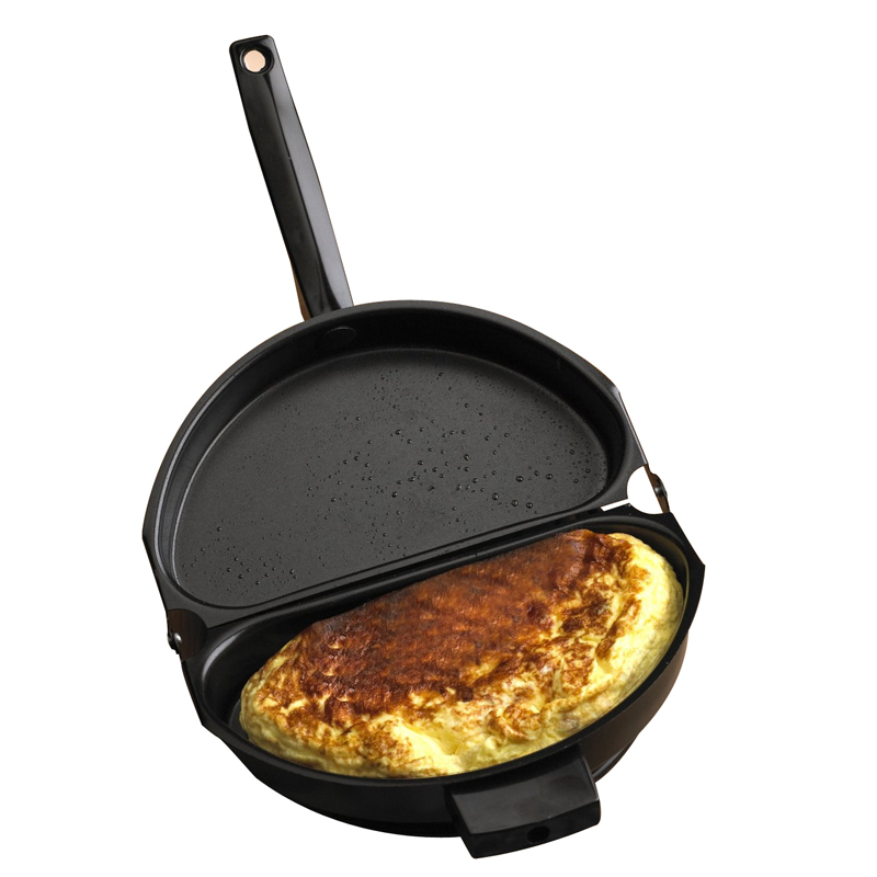 New-Design-Non-stick-Folding-Omelette-Pan-Hand-Frying-Pan-Stainless-Iron-Double-Side-Grill-Pan (1)