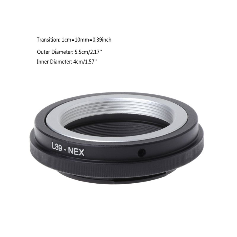 Leica L39 M39 lens to Sony E Mount Adapter ring for NEX-5 NEX-7 NEX-C3 NEX-VG20