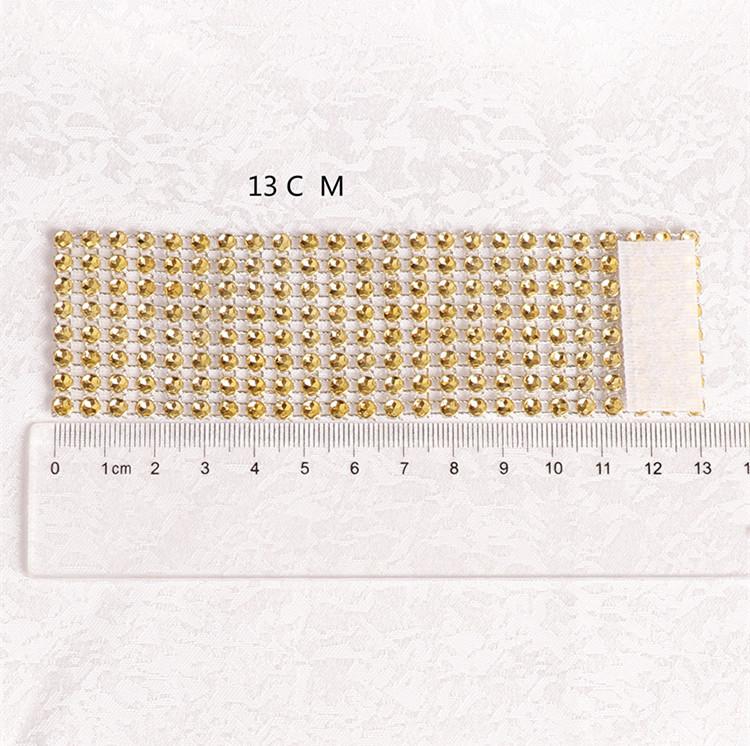 25 rows diamond napkin rings plastic napkin buckle charm Mesh Diamond Wrap Serviette Holder hotel wedding Fashion Accessories T1C371