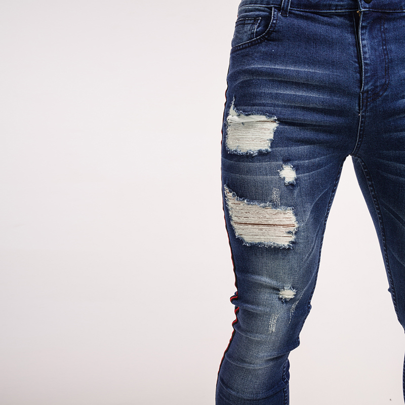 gingtto-mens-skinny-jeans-dark-blue-ripped-repaired-red-stripe-jeans-streetwear-zm21-5