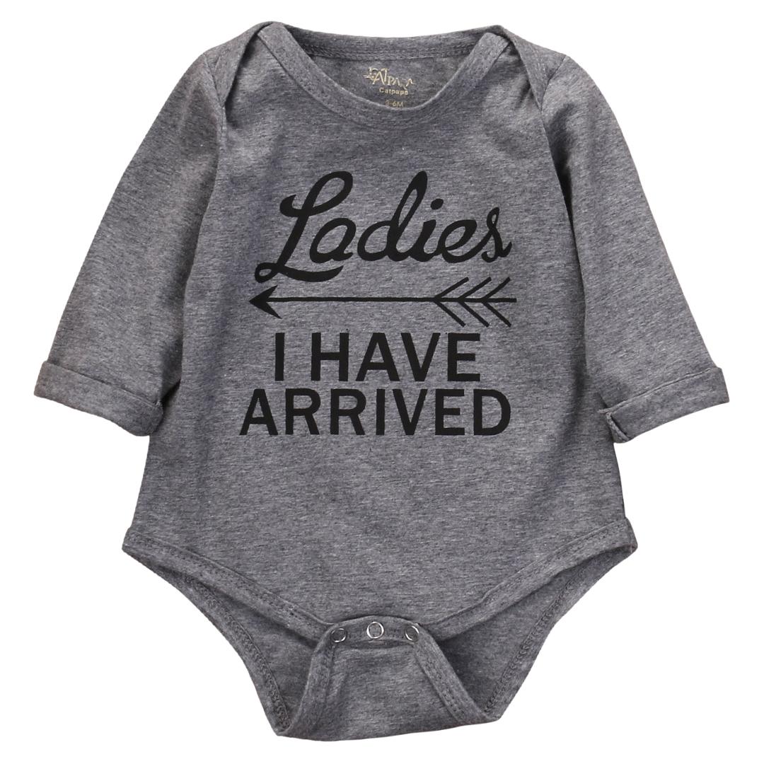 Newborn Infant Baby Girls Boys Romper Cotton Bodysuit Jumpsuit Playsuit Clothes