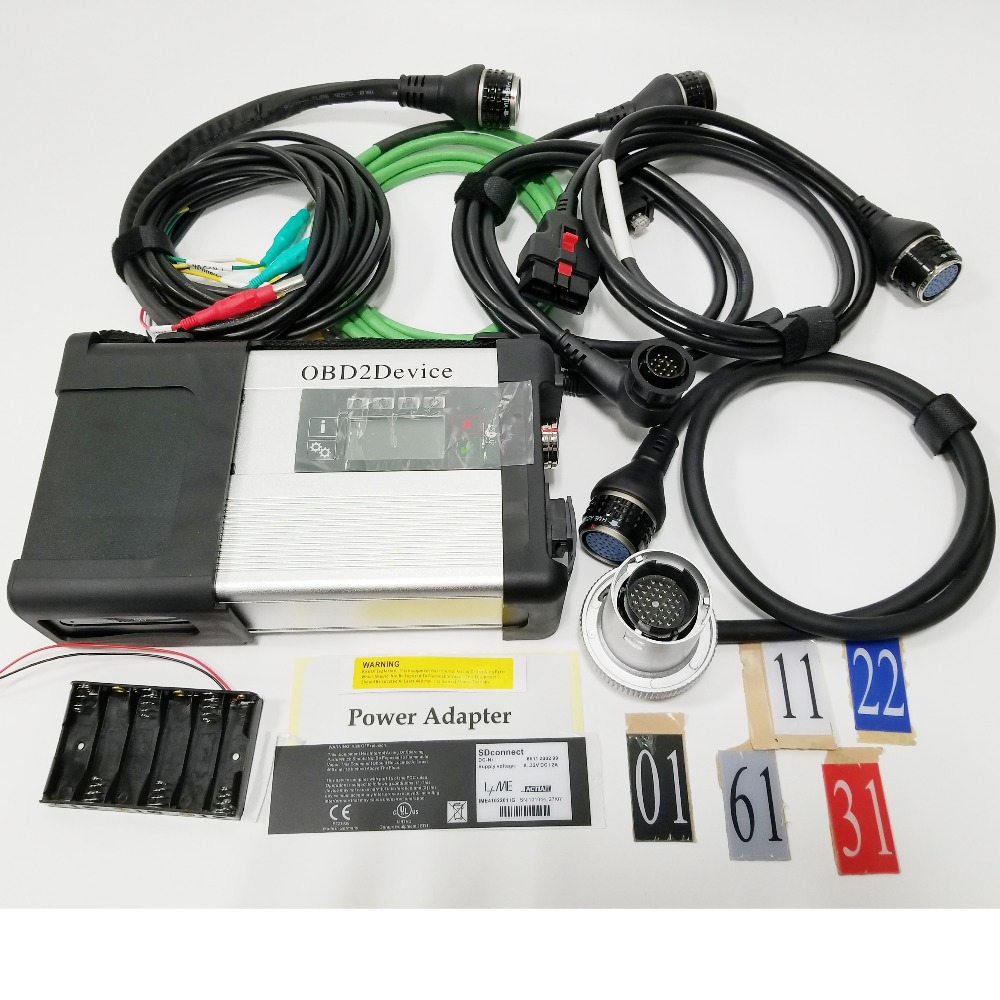 BEST QUALITY MB STAR C5 AD CONNECT COMPACT 5 DIAGNOSTIC TOOL