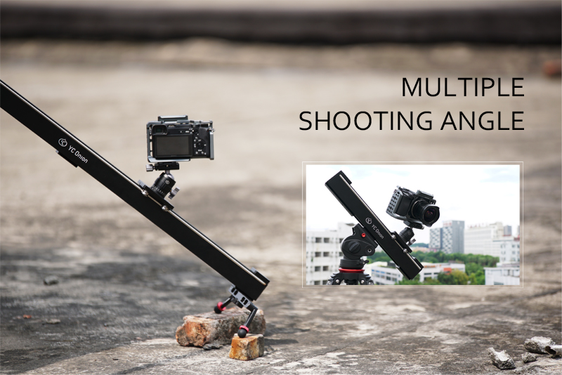 YC ONION Aluminum Motorized Camer Slider App Bluetooth Control Stable Smooth Slider Camera With Motor For Photography DSLR Video (5)
