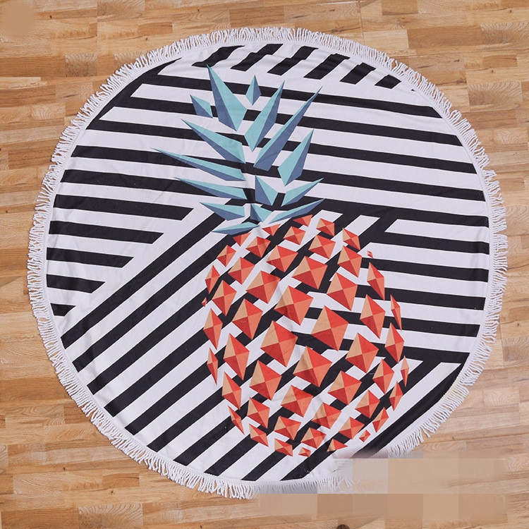 Round beach towel (8)