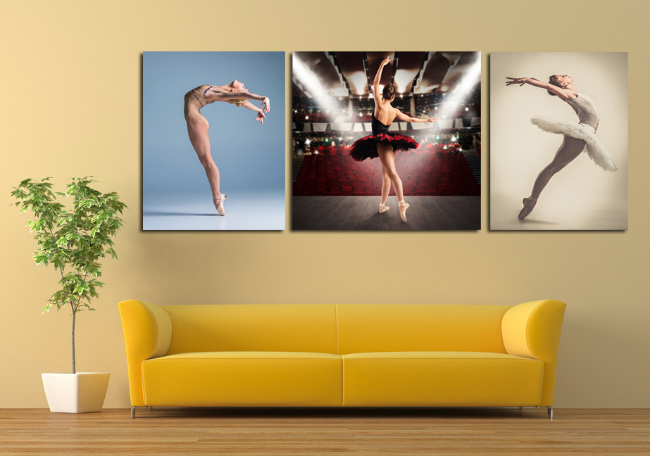 Hot sexy open photos Ballet Girl b f wallpaper Wall art canvas painting Poster Body Wholesale and retail The new listing