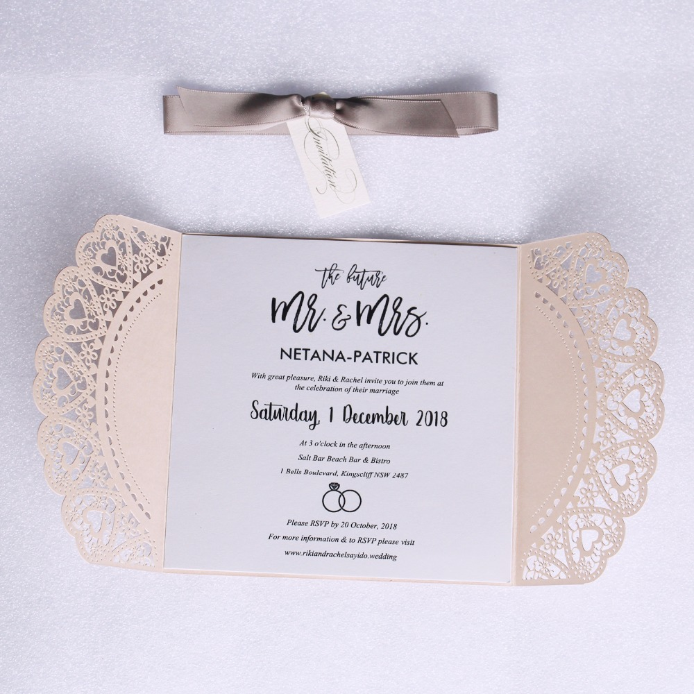 Romantic Invitation Cards