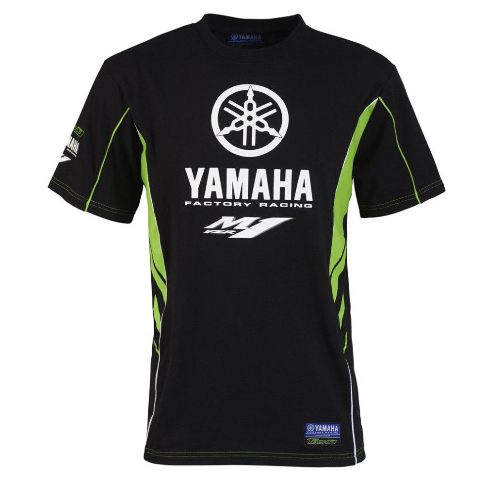 Yamaha Motorcycle Biker Motorrad Race Schwarze Fun T-Shirt 589